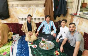 حال و هوای معتکفین در لحظهی تحویل سال نو در مسجد جامع ابوذر