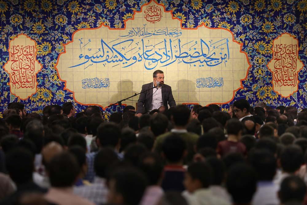حاج محمود کریمی جشن نیمه شعبان