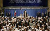 تصاویر/ دیدار طلاب حوزههای علمیه سراسر کشور با رهبر انقلاب در حسینیه امام خمینی(ره)