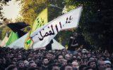 تصاویر/ مراسم خیمه سوزان میدان ابوذر دارالشهدای تهران