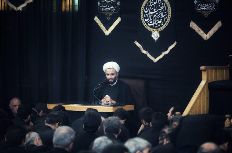 تصاویر/ مراسم ظهر عاشورا مسجد جامع ابوذر