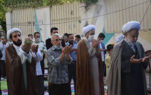 اقامه نماز عید سعید فطر به امامت حجتالاسلام و المسلمین رضا مطلبی
