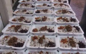توزیع غذای گرم بین مدد جویان در دومین پنجشنبه مهدوی