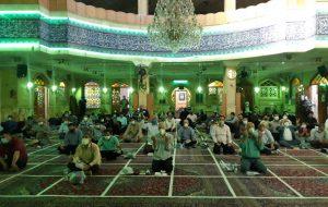 تصاویر مراسم دعای عرفه در مسجد جامع ابوذر