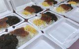 توزیع غذای گرم طرح اطعام علوی