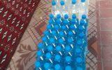 توزیع مواد ضدعفونی دست و سطوح بین نیازمندان تحت پوشش مرکز نیکوکاری ابوذر