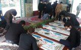مراسم غبار روبی مزار شهدای گمنام ابوذر همزمان با هفته دفاع مقدس