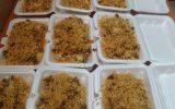 توزیع #یازدهمین_مرحله غذای گرم طرح اطعام حسینی