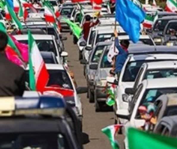 حماسه مردم تهران در راهپیمایی ۲۲ بهمن ۹۹ به روایت تصویر