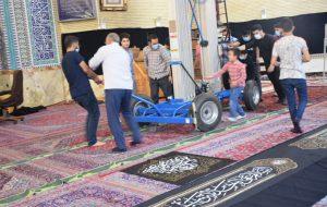 تصاویر /مراسم استقبال از محرم و سیاه پوشان مسجد جامع ابوذر