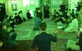 مراسم شب دوم سوگواری ایام فاطمیه اوّل و بزرگداشت حماسه ۹ دی در قاب تصویر