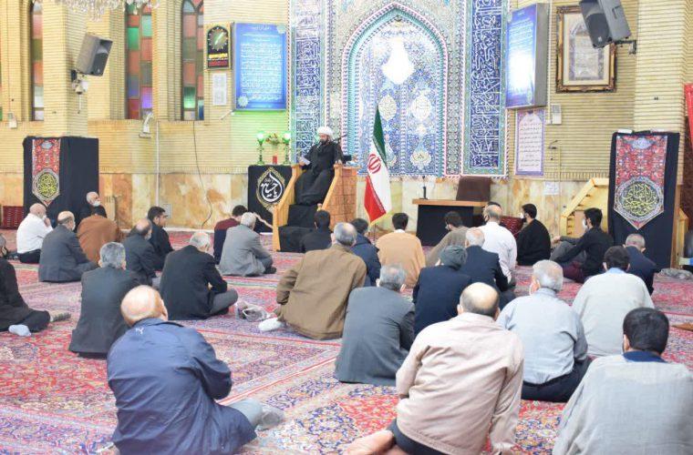گزارش تصویری مراسم عزاداری شهادت امام هادی (ع)