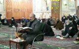 آیین معنوی قرائت دعای امداوود در مسجد جامع ابوذر  برگزار شد