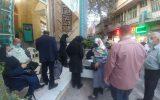 گزارش تصویری ازطرح واکسیناسیون مسجد جامع ابوذر